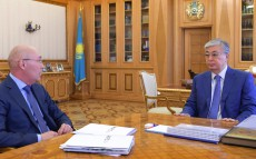 Head of State receives Kairat Kelimbetov, Managing Director of Astana International Financial Centre