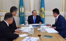 Meeting with Yerlan Nysanbaev, Vice-Minister of Agriculture