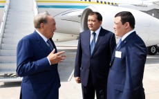 Working visit to Atyrau region