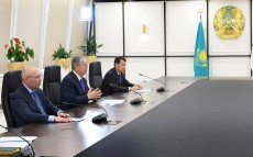 President of Kazakhstan met with Bandar Hajjar, President of the Islamic Development Bank Group