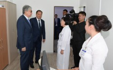 Visit to Aktau's municipal polyclinic 2