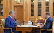 The Head of State receives Gizat Nurdauletov, Prosecutor General