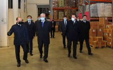 Kassym-Jomart Tokayev visits the transport and logistics centre