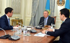 Meeting with Askar Zhumagaliev, Chairman of Kazatomprom JSC Board