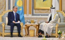 President Kassym-Jomart Tokayev held talks with Sheikh Mohammed bin Zayed al Nahyan, the Crown Prince of Abu Dhabi