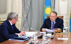 Meeting with Berdybek Saparbayev, Akim of Aktobe region