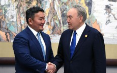 Meeting with President of Mongolia Khaltmaagiin Battulga